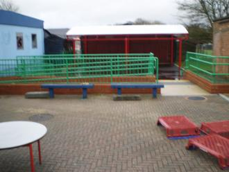 Dunton Green Primary School, Sevenoaks - New play area,canopy and Access ramp