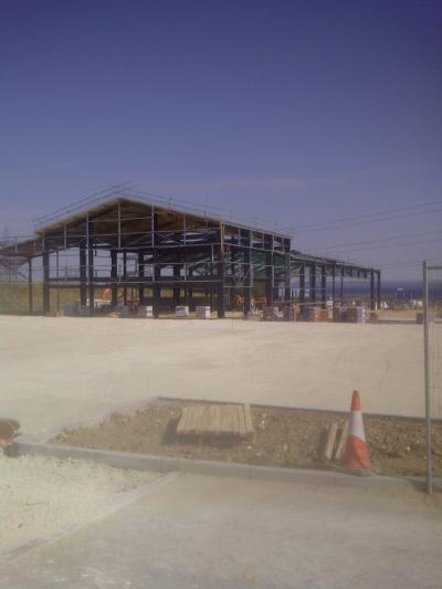 New Lorry Park, Offices and Warehousing in Sittingbourne Kent photo 5