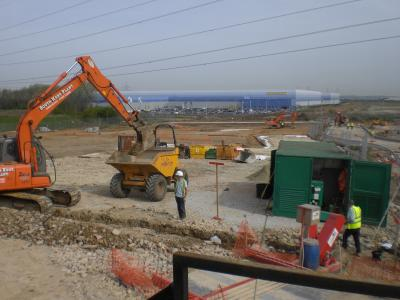New Lorry Park, Offices and Warehousing in Sittingbourne Kent photo 2