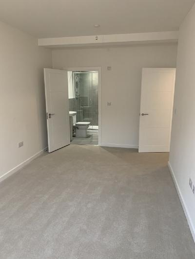 Living Area of Flat Conversion at Sutton, Surrey