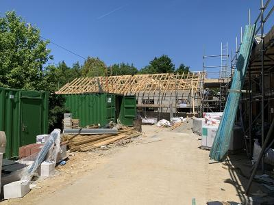 Roofing Works in Progress at Smarden