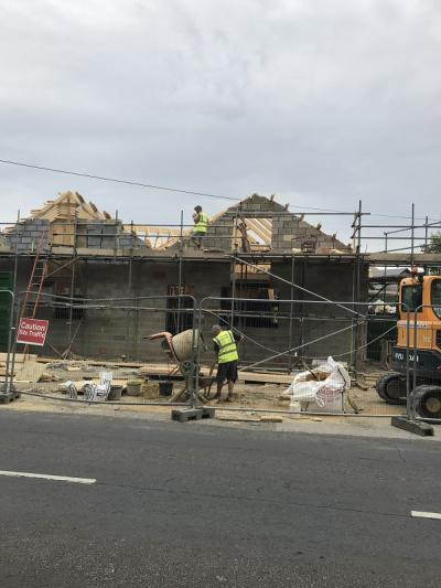 Ongoing Construction Works at Smarden
